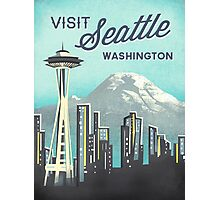 Seattle Space Needle Photographic Print