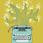 the Typing Tree by Jenny Tiffany