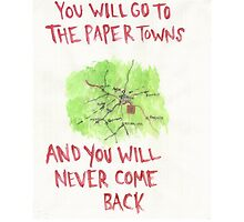 paper towns by Ed-Ingle