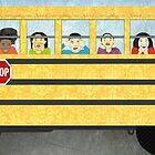 Big Yellow School Bus by Janet Carlson
