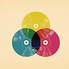 Cmyk music record by Budi Satria Kwan