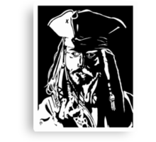 Jack Sparrow  Canvas Print