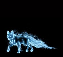 fox patronus by c-chenard