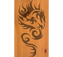 Wood Dragon Photographic Print