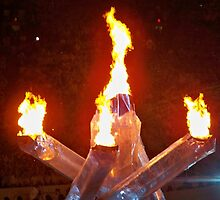 2010 Vancouver Winter Olympics Flame by mkoski