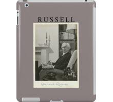 Bertrand Russell T-Shirt iPad Case/Skin