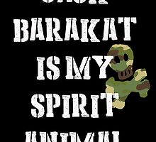 Jack Barakat is my Spirit Animal by Mollie Barbé