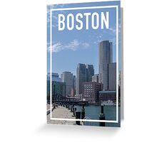 BOSTON FRAME Greeting Card