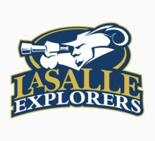 "College University ""LaSalle Explorers"" Sports Baseball Basketball Football Hockey by artkrannie"