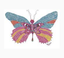 Butterfly Blogger Original Art by MotherUnadorned