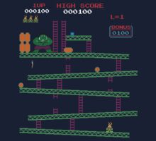 8 Bit Kong by Everwind