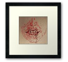 Sweet Pain -- Red Framed Print