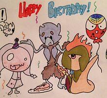 Happy birthday fakemon by pokegirl93