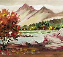 Looking Towards the Rockies by Jim Phillips