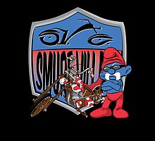 Smurf Village Choppers by mbgage74