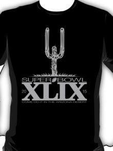 SUPERBOWL XLIX TD CACTUS GRY T-Shirt