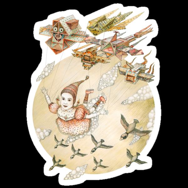 Dream of flying by Ruta Dumalakaite