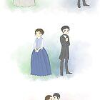 Mr. Thornton & Margaret by wassereis