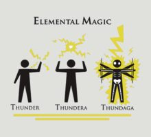 Final Fantasy Elemental Magic (Thunder) by ----User