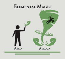 Final Fantasy Elemental Magic (Aero) by ----User