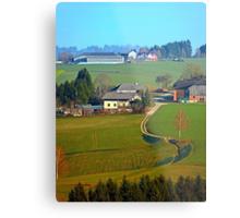 Beautiful traditional farmland scenery II | landscape photography Metal Print