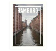 HAMBURG FRAME Art Print