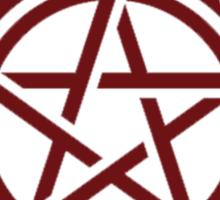 supernatural tattoo Sticker