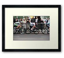 Mark Cavendish Tour of Britain 2013 Framed Print