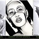 Golden Age sketchcards by wu-wei