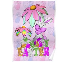 Happy Easter Bunny Poster