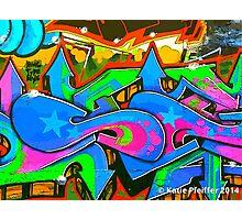 Graffiti Wall #2 Photographic Print