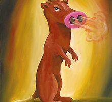 Spice Weasel by Katie Clark