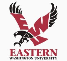 "College University ""Eastern Washington Eagles"" Sports Baseball Basketball Football Hockey by artkrannie"