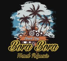 Party Land In Bora Bora by dejava