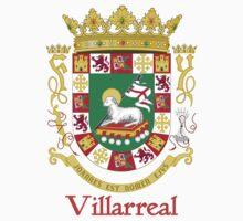Villarreal Shield of Puerto Rico by William Martin