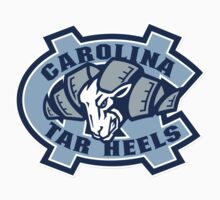 "College University ""North Carolina Forest Tar Heels"" Sports Baseball Basketball Football Hockey by artkrannie"