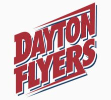"College University ""Dayton Flyers"" Sports Baseball Basketball Football Hockey by artkrannie"