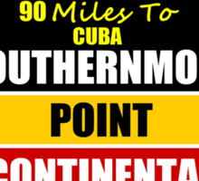Key West Conch Republic Sticker