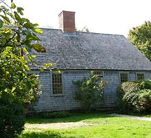 Martha's Vineyard Oldest House by Trish Meyer