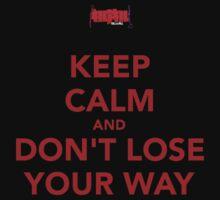 DON'T LOSE YOUR WAAAAAYYYY~ by sporadictiger