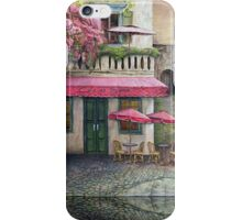 The Red Cafe iPhone Case/Skin