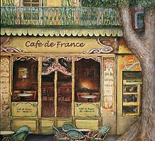 The Yellow Cafe by gregoryalex