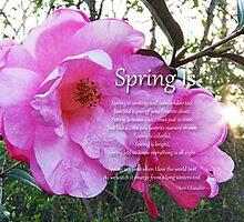 Spring Is by Terri Chandler