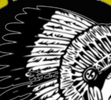 """Hustle Gang Gold"" Long Sleeve Sticker"