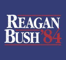 Reagan/Bush '84 by AmericanVenom