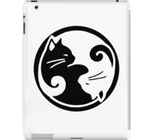 Tao of Meow Dark T-Shirt iPad Case/Skin