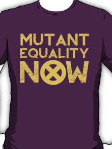 X-Men Mutant Equality NOW Red T-shirt T-Shirt