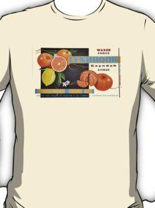 Waxed Choice Fruit Label T-Shirt