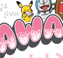 Greetings from Kawaii Sticker