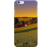 Beautiful sundown in the countryside | landscape photography iPhone Case/Skin